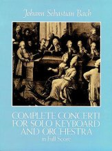 Concerti For Solo Keyboard and Orch-Scor