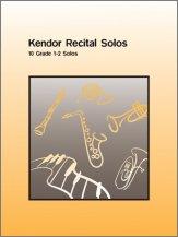 Kendor Recital Solos - Baritone B.C. - Solo Book