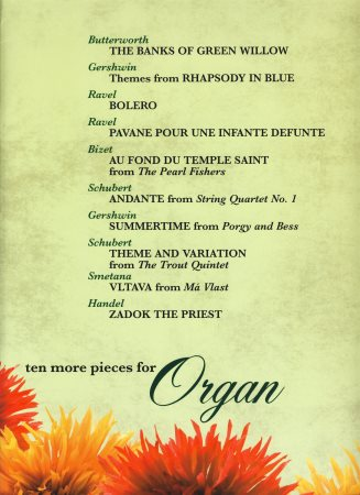 TEN MORE PIECES FOR ORGAN