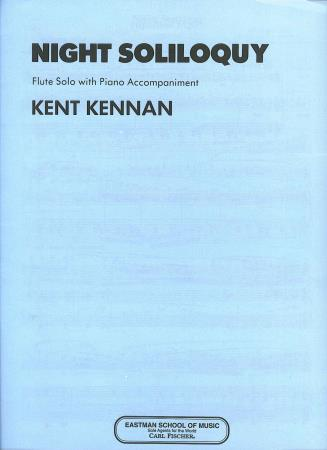 Night Soliloquy Sheet Music by Kent Kennan (SKU: ET7 ...