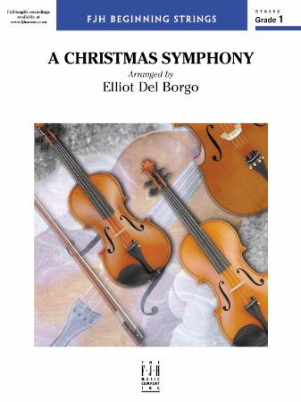 A Christmas Symphony Sheet Music by Elliot Del Borgo (SKU: ST6092