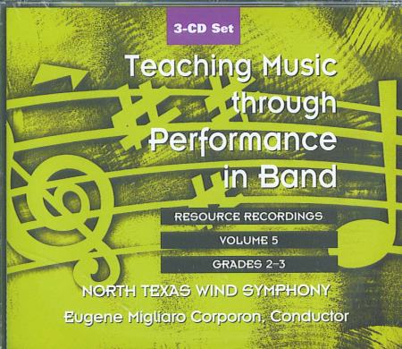Teaching Music Through Perf/Band V5cd1