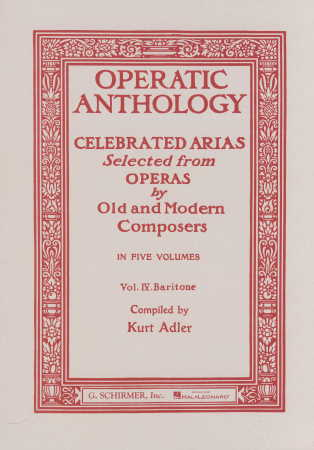 Operatic Anthology Vol 4