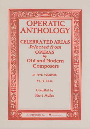 OPERATIC ANTHOLOGY VOL 5