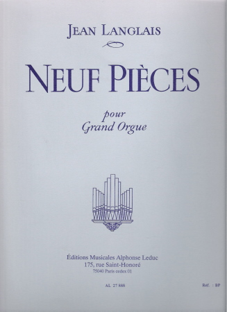 NEUF PIECES POUR GRAND ORGUE