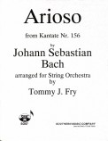 Arioso From Kantate #156
