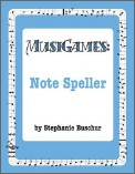 Musigames: Note Speller