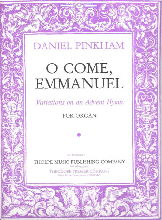 O COME EMMANUEL VARIATIONS ON AN ADVENT