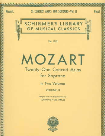 21 Concert Arias For Soprano Vol 2