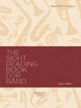 Sight Reading Book For Band #1 (Bass Dr)
