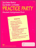 Practice Party Student Assignment Book