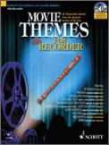 Movies Themes For Alto Recorder (Bk/Cd)