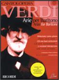 Arias For Baritone (Bk/Cd)