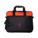 Promo Portfolio: Black/Red Treble Clef