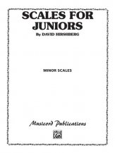 Scales For Juniors-Minor Scales