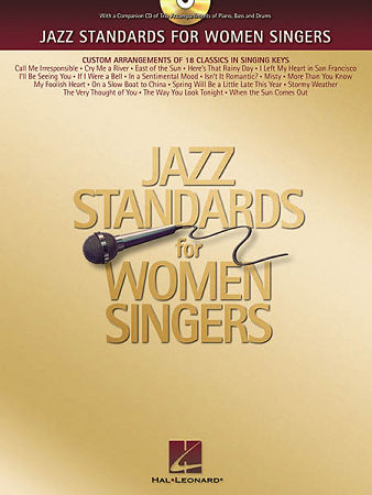 JAZZ STANDARDS FOR WOMEN SINGERS (BK/CD