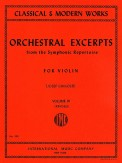 Orchestral Excerpts Vol 3