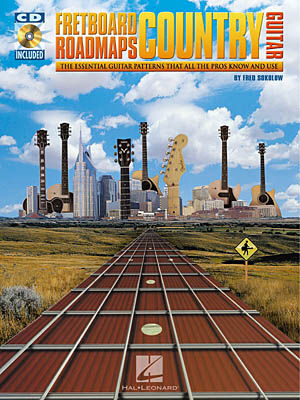 Fretboard Roadmaps Country Guitar (Bk/C