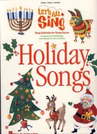 Let's All Sing Holiday Songs (10-Pak)