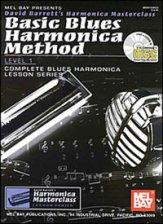 Basic Blues Harmonica Method Lev 1 (Bk