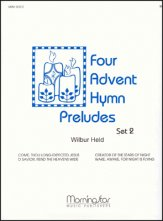 Four Advent Hymn Preludes Set 2