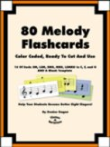 80 Melody Flashcards