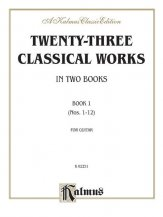 Twenty-Three Classical Works Bk 1 (#1-12
