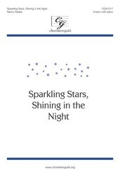 Sparkling Stars Shining In The Night