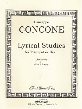 Lyrical Studies For Trumpet Or Horn