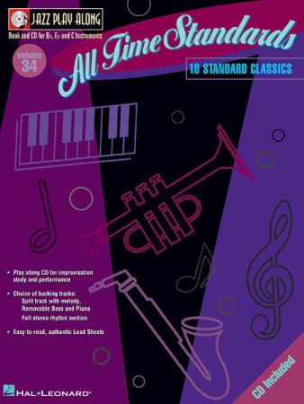 Jazz Play Along V034 All Time Standards