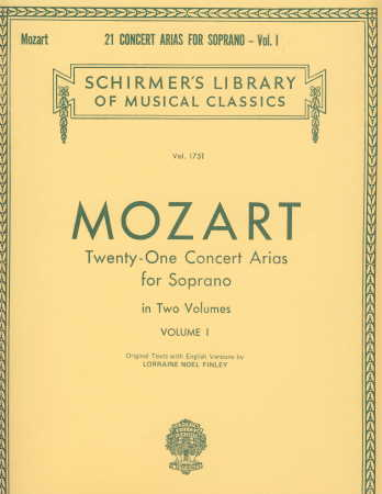 21 Concert Arias For Soprano Vol 1