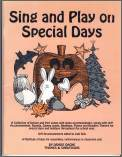 Sing And Play On Special Days (Bk/Cd)