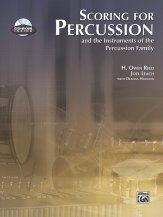 Scoring For Percussion (Bk/Cd)