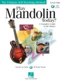 Play Mandolin Today (Bk/Cd)