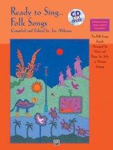 READY TO SING FOLK SONGS (BK/CD)