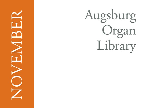 Augsburg Organ Library November