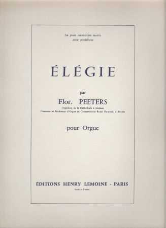 ELEGIE OP 37