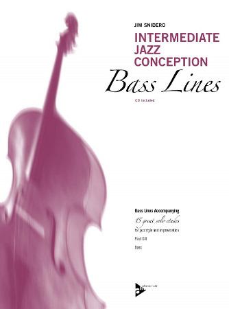 intermediate jazz conception bass lines sheet music by jim snidero sku adv14788 stanton 39 s. Black Bedroom Furniture Sets. Home Design Ideas