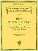 50 Selected Songs By Schubert Schuman