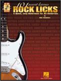 101 Must-Know Rock Licks (Bk/Cd)