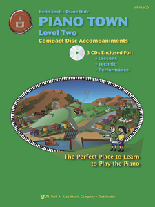 Piano Town Lv 2 (Cd)