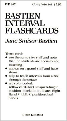 Flashcards Bastien Interval