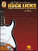 101 Must-Know Rock Licks (Bk/Cd)