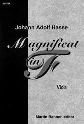 Magnificat in F - Viola