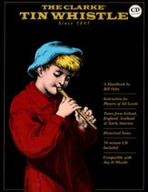 Clarke Tin Whistle (Bk/Cd)