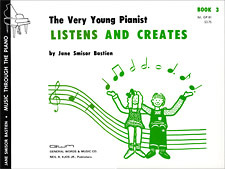 Very Young Pianist Listens & Creates 3