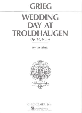 WEDDING DAY AT TROLDHAUGEN OP 65 NO 6