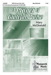 A Prayer Of Grateful Praise