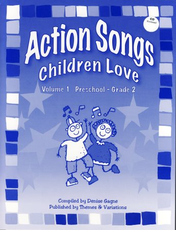 Action Songs Children Love Vol 1 (Bk/Cd)