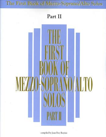 FIRST BOOK OF MEZZO-SOPRANO SOLOS II, TH